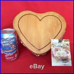 3 Longaberger Sweetheart Stacking Basket Sets LOVE Treasures Letters & Little