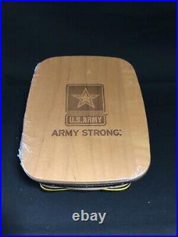 ARMY Longaberger American Valor Note Basket Set