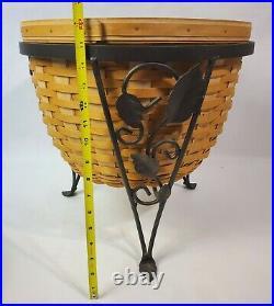 Beautiful Longaberger At Home Garden Basket Set