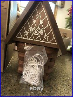 Collectors Club Longaberger Gingerbread House Basket Set