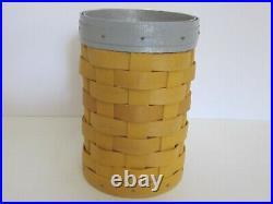 Hard to Find Longaberger NUMBER 2 PENCIL Basket Set School Teachers