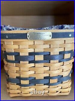 JW LONGABERGER MINIATURE Basket set + Display Cabinet