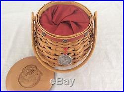 LET ME CALL YOU SWEETHEART Basket Complete set Valentine Longaberger