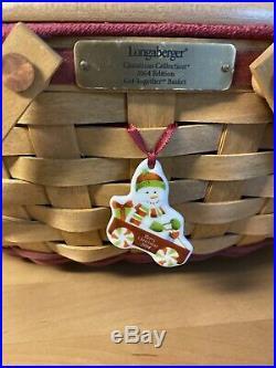 LONGABERGER 2004 Get Together & Holiday Hostess, Gumdrop Set