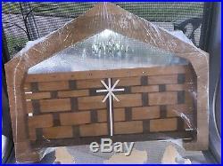 LONGABERGER BASKET Christmas NATIVITY Set 5 Piece MAPLE WOODCRAFTS Manger Sealed