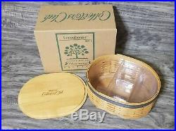LONGABERGER Collectors Club HARMONY Basket Collection Complete set of 5 (MINT)