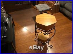 LONGABERGER Wrought Iron (GENERATIONS STAND) Basket Sets / WoodCrafts Shelves