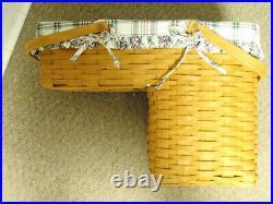Longaberger 1995 Hostess Only Odds & Ends Basket Set, Pre-Owned