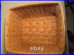 Longaberger 1999 Hostess File Basket 12769 Set