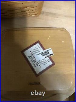 Longaberger 2001 Classic Card Keeper Basket Set