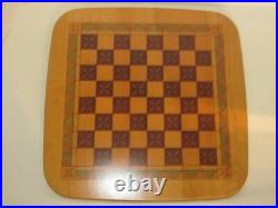 Longaberger 2001 Father's Day CHECKERBOARD Full Set with Chess Pieces & Checkers