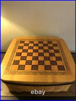 Longaberger 2001 Fathers Day Checkerboard Basket Set