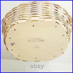 Longaberger 2004 Whitewashed Easter Basket Set18TH EDITIONEASTER EGG DECORNEW