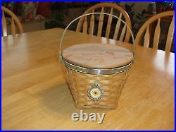 Longaberger 2005 Bee Basket Set Mint