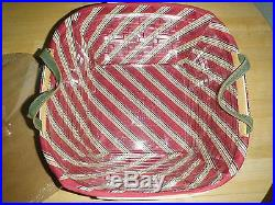Longaberger 2005 Garland Holiday Hostess Basket Set