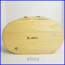 Longaberger 2007 Large Oval Picket Easter Basket Set20th Edit. AVAIL 1 MTH ONLY
