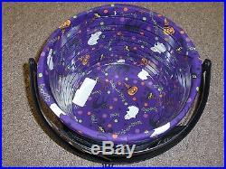 Longaberger 2008 LG CAULDRON Bask Set, Lid, Liner, Prot. 2 Knobs, WI Holder, NEW