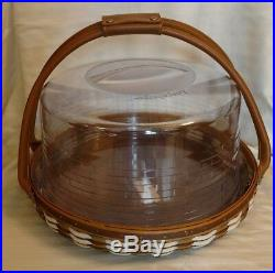 Longaberger 2009 Collectors Club Celebrate Together Basket Set With Protector