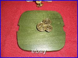 Longaberger 2009 St. Patrick's Day Lucky Wish Basket Set New