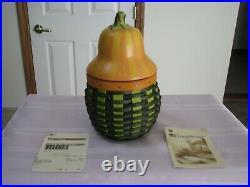 Longaberger 2011 CC Gourd Basket Set