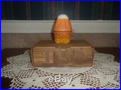 Longaberger 2012 Collector's Club Miniature Candy Corn Basket Set NIB