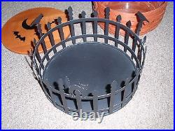 Longaberger 2012 TRICK OR TREAT Basket Set, WithLid, Prot. And WI Holder, NEW
