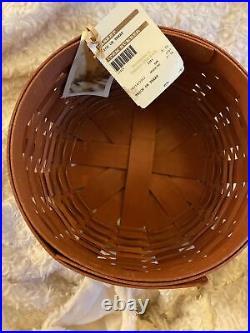 Longaberger 2012 TRICK OR TREAT Basket Set, WithLid, Prot. And WI Holder NWT