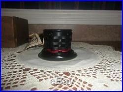 Longaberger 2013 Collector's Club Miniature Top Hat Basket Set NIB
