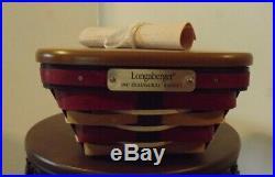 Longaberger 2017 Inaugural Basket Set Free Shipping