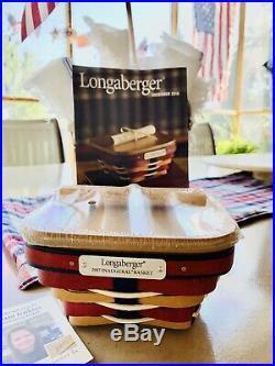 Longaberger 2017 Inaugural Basket Set LAST In Series