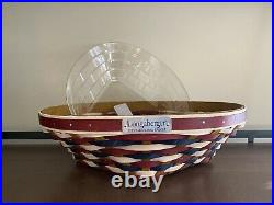Longaberger 2021 Inaugural Basket Set NEW Ready to Ship