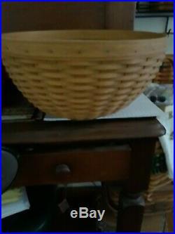 Longaberger 4 bowl baskets. Set
