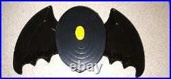 Longaberger Black Bat Dish And Black Basket Set. Rare