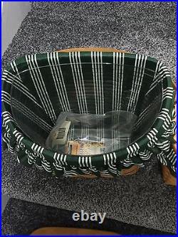 Longaberger Christmas Collection 3 Basket set