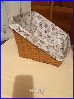 Longaberger Classic Book Keeper Basket Set New 2001 Bookkeeper RETIRED