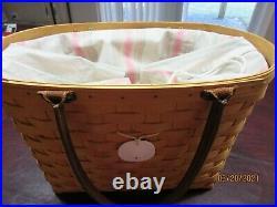 Longaberger Classic Large Boardwalk Basket Set