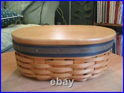 Longaberger Collector Club 5 FULL Sets HARMONY Shaker Baskets w Lids Protectors