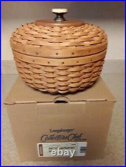 Longaberger Collector Club Lightship Basket Set