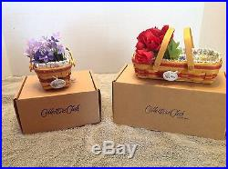 Longaberger Collector Club Miniature May Series Baskets Complete Set of 14