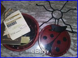 Longaberger Collector Club Tiny Little Lady Bug Complete Set MINT FREE SHIPPING