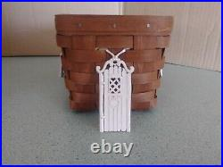 Longaberger Collector's Club Gingerbread House set NEW