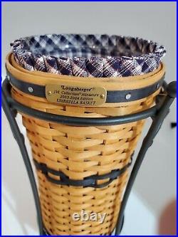 Longaberger Collectors Club 2003-2004 JW Miniature Umbrella Basket Set