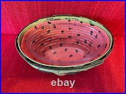 Longaberger Collectors Club 2010 Homestead Gathering Watermelon Basket Set