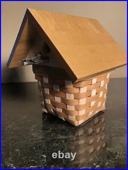 Longaberger Collectors Club Birdhouse Basket Set With Protectornib
