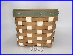 Longaberger Collectors Club Birdhouse Basket Set with Liner NIB