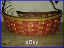 Longaberger Collectors Club CC Bittersweet Basket Set Protector