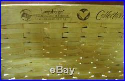 Longaberger Collectors Club CC Fishing Creel Basket Set Retired orig $365