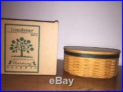 Longaberger Collectors Club Harmony Basket Set