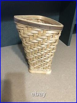 Longaberger Collectors Club Heartwood Vase Basket Set New