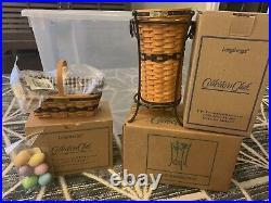 Longaberger Collectors Club J. W. Collection Miniatures Complete Set 1996-2004